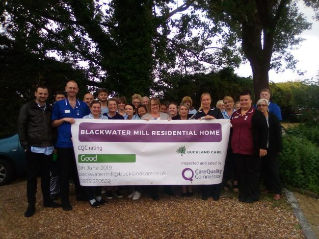 Blackwater Mill rated 'Good' by CQC following its recent inspection.