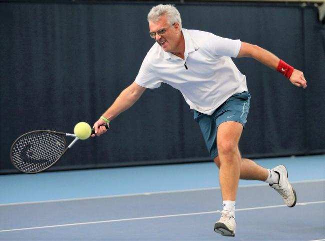 Ryde's Neil Fradgley is new world tennis B4 (visually impaired) number two player.