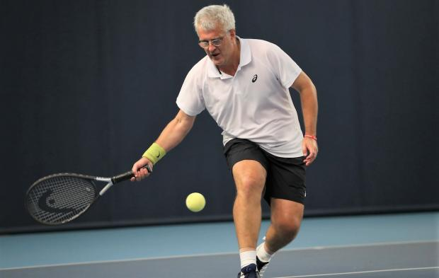 Isle of Wight County Press: Neil Fradgley, of Ryde, is the world number two visually impaired tennis player in the B4 category.