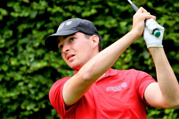 Isle of Wight County Press: Jordan Sundborg, of Shanklin and Sandown Golf Club.