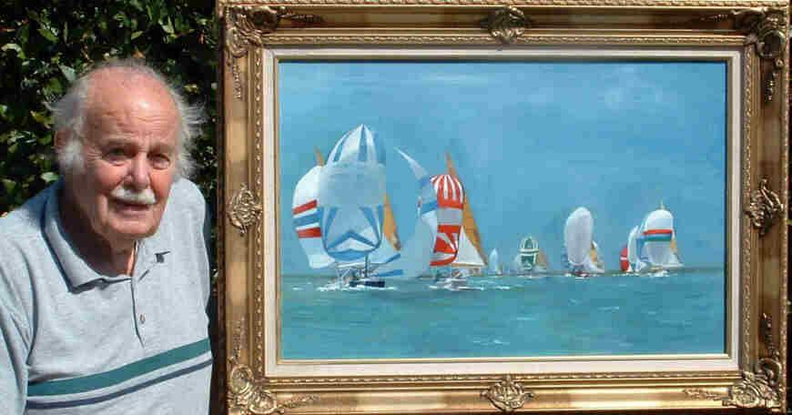 Isle of Wight artist John Bernard Watson has died at the age of 99