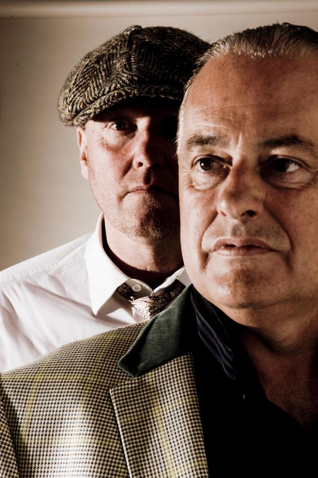 Heaven 17's Martyn Ware and Glenn Gregory. Picture by Mike Prior.