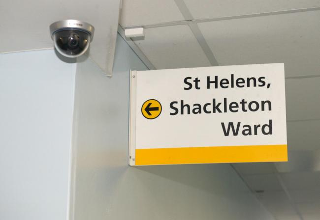 The Shackleton Ward underwent a £200,000 refurbishment after it was deemed inadequate