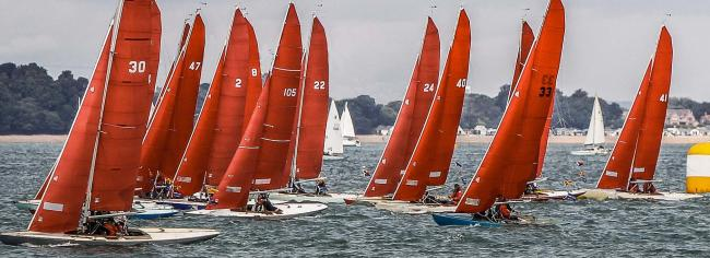 The majority of white group classes will not race today — but there is still lots of Cowes Week racing to enjoy.