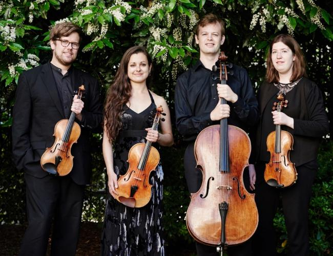 The Castalian String Quartet, who will perform in October. Picture by Kaupo Kikkas.