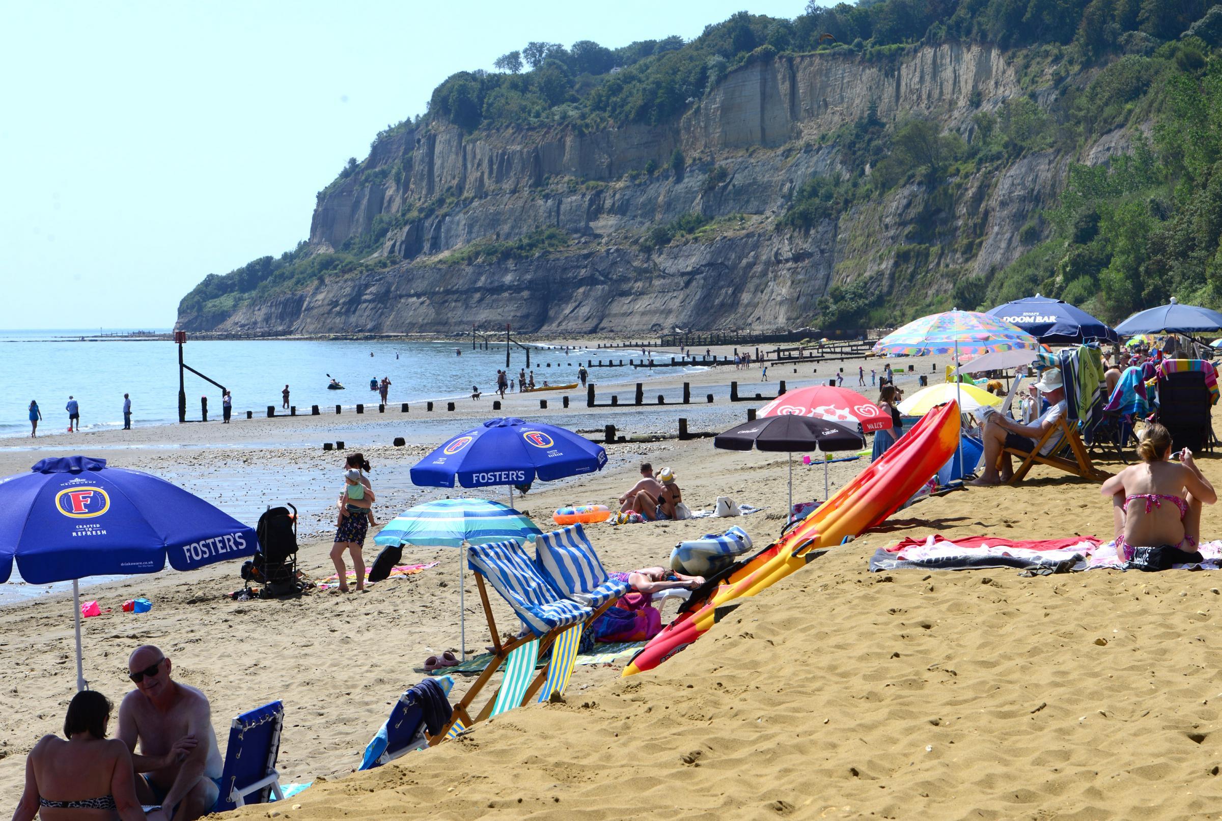 Isle of Wight emergency services called to landslip near Shanklin Esplanade