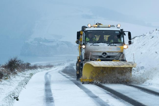Early morning run for gritters as temperatures set to drop.