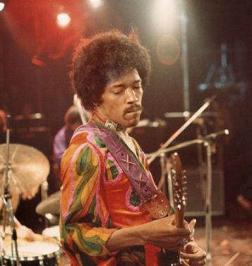 Jimi Hendrix, who headlined the 1970 Isle of Wight Festival.