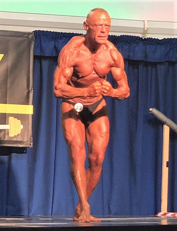 Coach and fitness trainer, Andy North, is still achieving success as a bodybuilder at 54, coming back from knee and hip replacements.