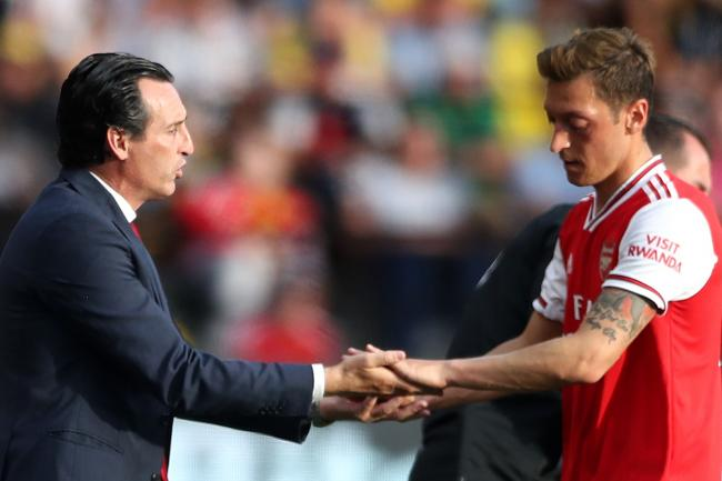 Unai Emery insists Mesut Ozil needs rest after missing the trip to Germany