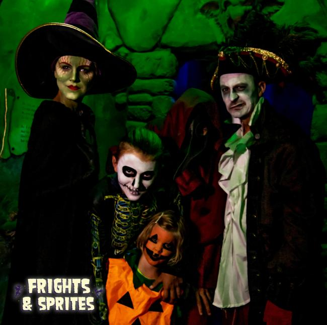 Frights and Sprites ­— a new Halloween Spooktacular comes to Blackgang Chine
