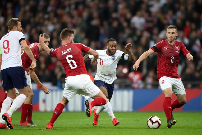 England hammered Czech Republic in March