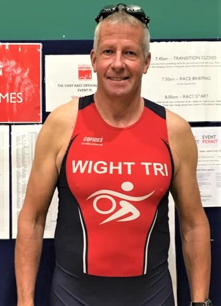 Isle of Wight County Press: Wight Tri's Steve Dines set himself a challenge of ten triathlons this season.