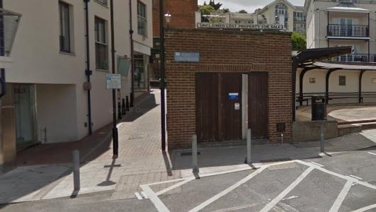 The public toilets at the Parade, Cowes. Picture by Google Maps.