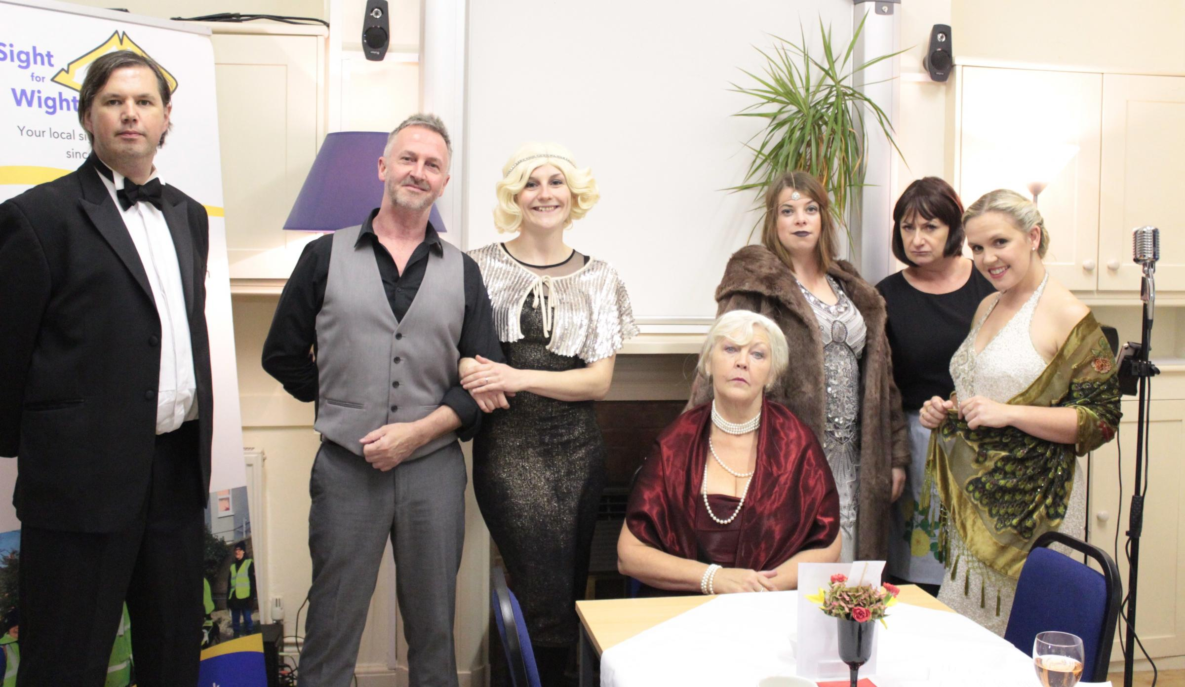 Super sleuths solve murder mystery at Sight for Wight event