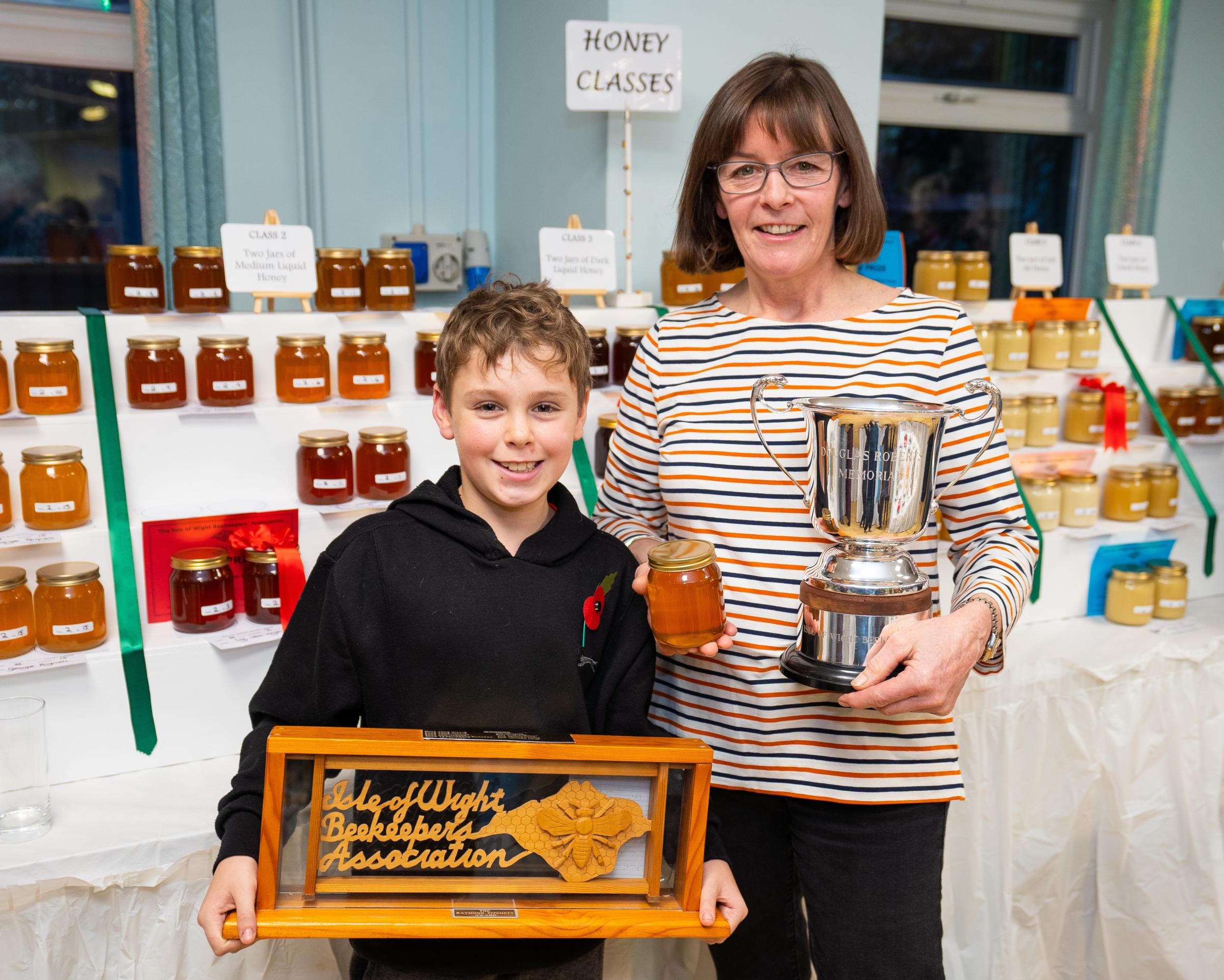 High number of entries leaves Isle of Wight Honey Show buzzing