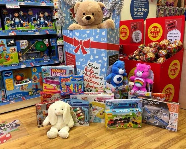 Isle of Wight Radio Christmas Toy Appeal launched — buy a gift for a less fortunate child this Christmas.