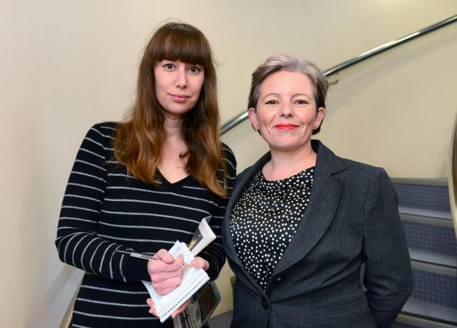 IW County Press editor Emily Pearce and IW Radio's Lucy Morgan will present the hustings.