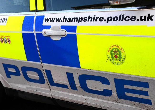 Emergency crews called to overturned car in Niton