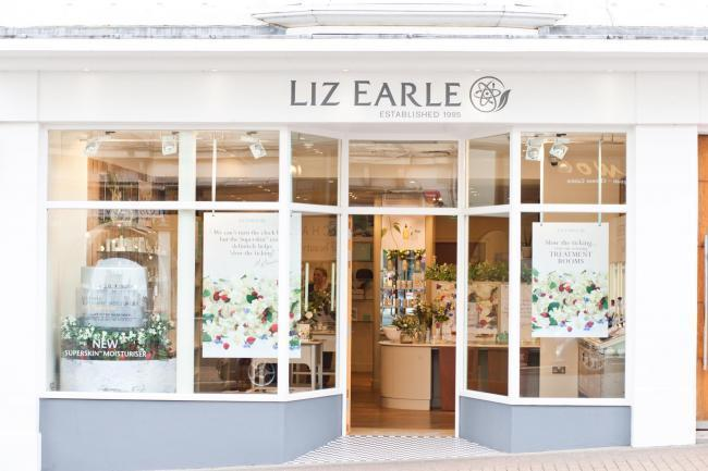 The Liz Earle shop in Ryde.