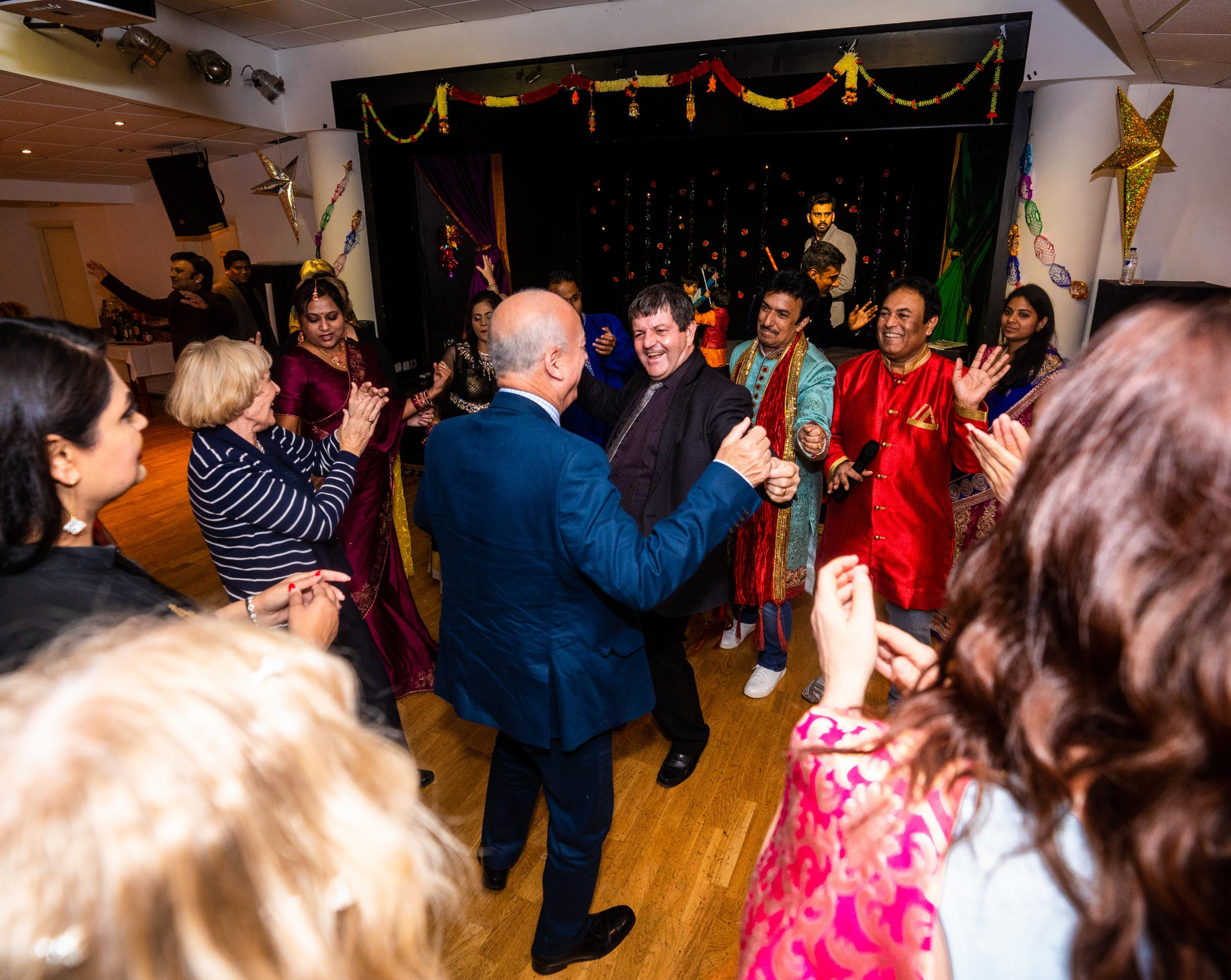 Isle of Wight councillors and doctors hit the dance floor at 12th annual Diwali function