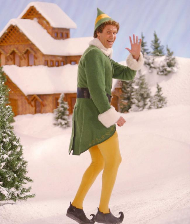 Will Ferrell, starring in Elf (PG). Picture by Moviestore/Shutterstock.