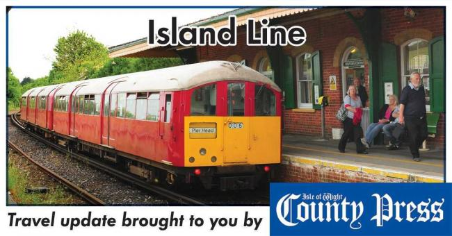 Reduce Island Line service due to faulty train — disruption set to last all day.