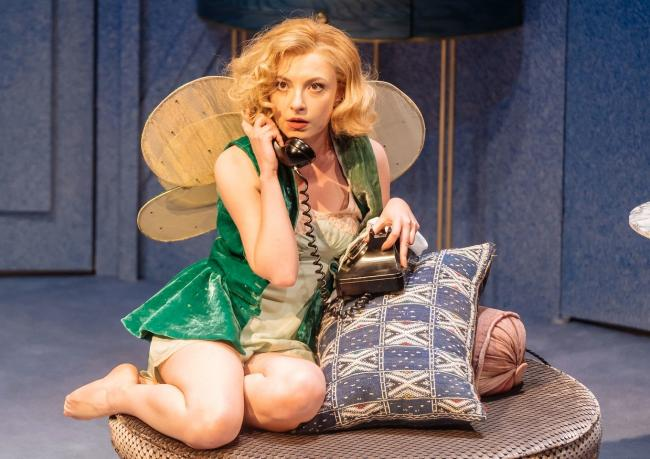 Kitty Archer in Present Laughter. Picture by Manuel Harlan.