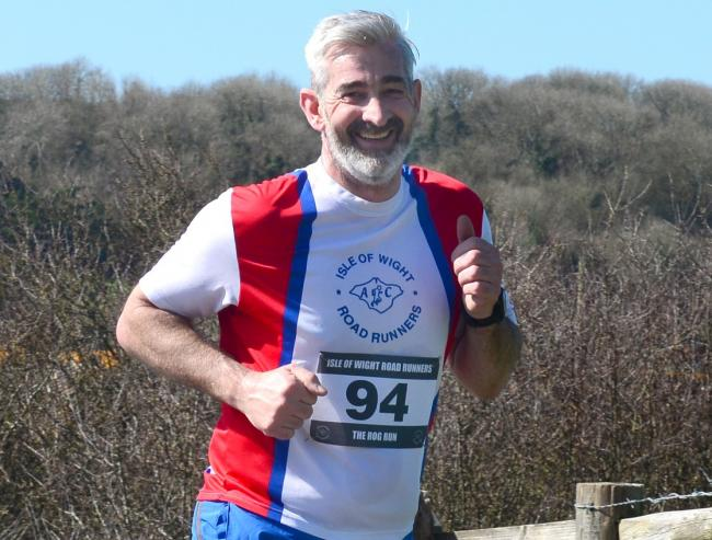 Kevin Winchcombe, the new chairman of the Isle of Wight Island Games Association.