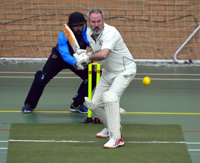 Ryde's Dave Pratt has been one of Ryde's most effective batsmen during the indoor season.  Photo: Jennifer Thompson