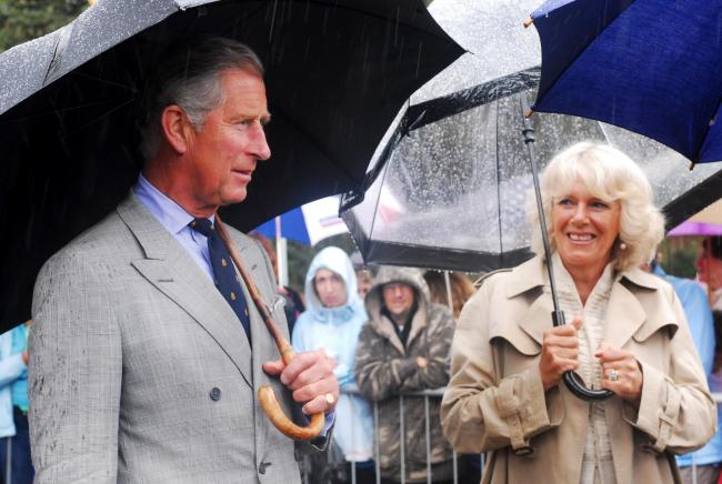 The Prince and Duchess on the Isle of Wight in 2009