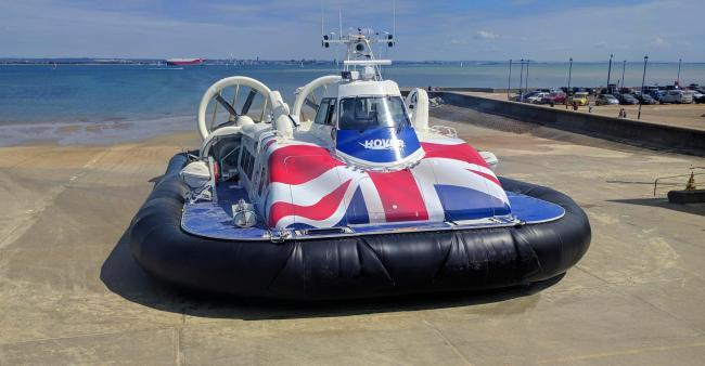 Hovertravel update after a day of high winds