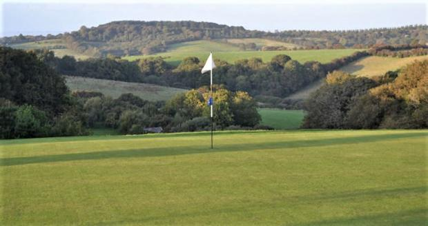 Isle of Wight County Press: Newport Golf Club started golf this morning (Wednesday).