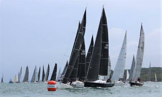 Action from last year's Taittinger Royal Solent Yacht Club Regatta.