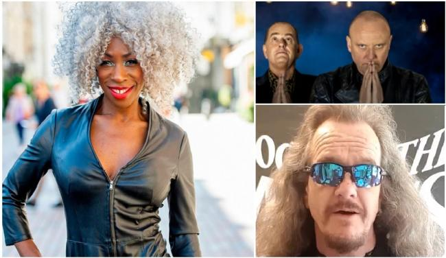 Image: Heather Small (Instagram), Heaven 17 (own website), Clive Jacson, Doctor and the Medics