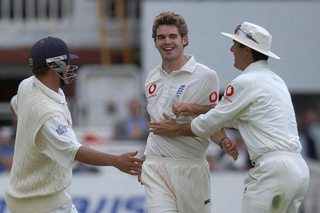 James Anderson had a Test debut to remember (Matthew Fearn/PA)