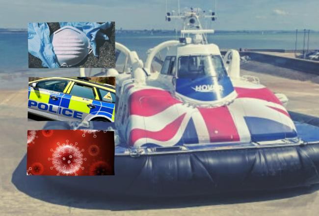 Coronavirus: Pair banned from Hovertravel after face covering 'verbal abuse'