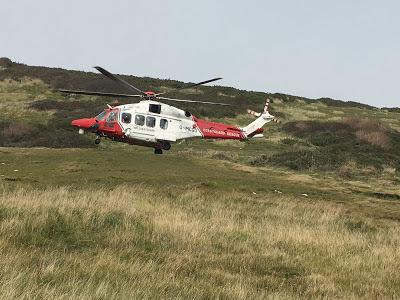 Rescue Helicopter 175. Picture: Steve Richards