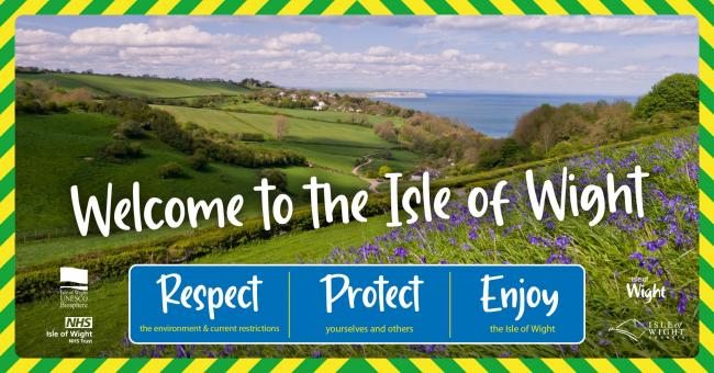 A visitor charter had been launched to support the Isle of Wight's tourism.