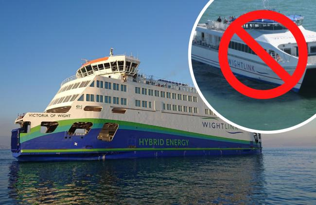 Wightlink: More car ferries planned but what about FastCats?