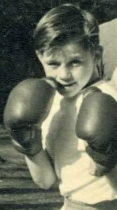 Isle of Wight County Press: Barry Allen as promising young boxer.