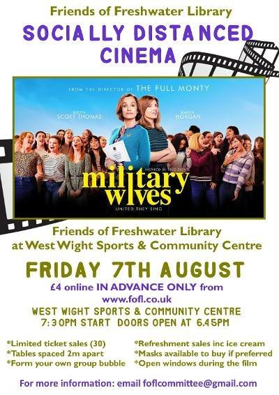 Friends of Freshwater Library cinema is returning.
