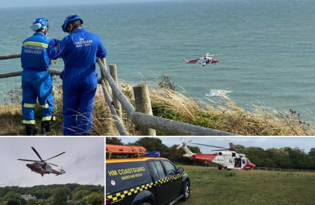 Images: Ventnor Coastguard Rescue