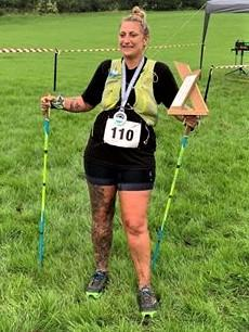 Isle of Wight County Press: Ryde Harriers endurance runner, Sasha Levrier.