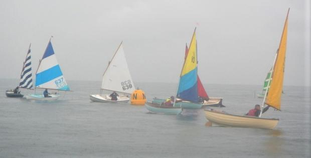 Isle of Wight County Press: Bembridge Sailing Club's Scow Championships. Photo: Mike Samuelson