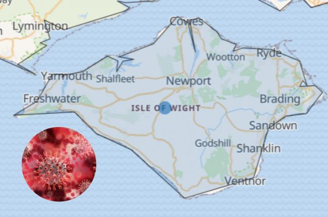 The Isle of Wight now has more than 450 recorded cases of coronavirus
