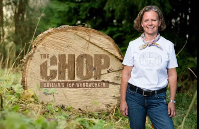 Will Isle of Wight's Annie be Britain's Top Woodworker in Lee Mack's The Chop