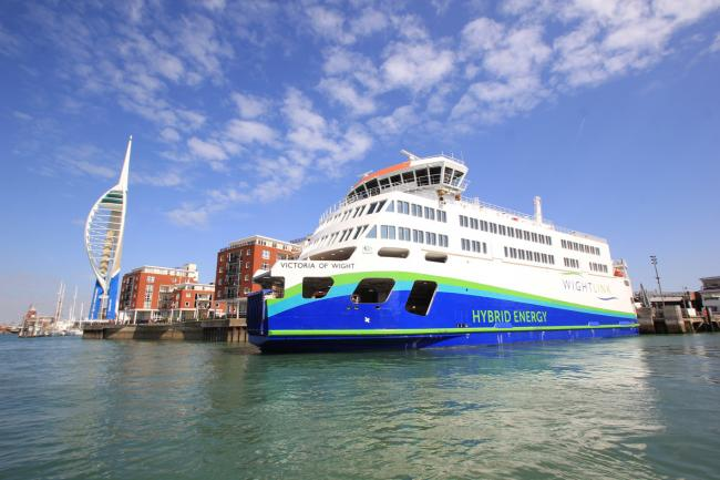 Wightlink's Victoria of Wight. Picture by Patrick Hughes.