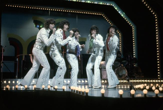 The Osmonds. Image: Getty Images.