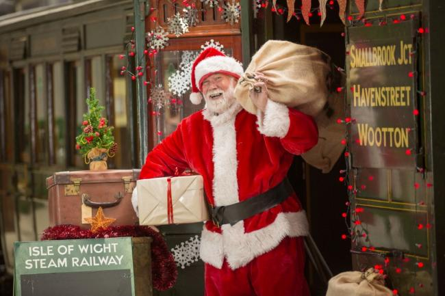 Santa will return to the Steam Railway in December